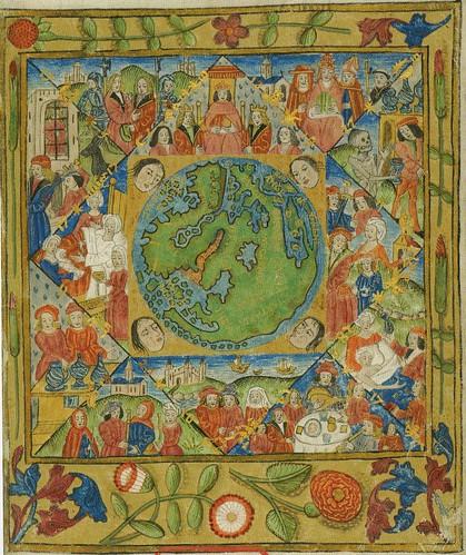 Инфографика эпохи Возрождения